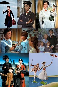 *MARY POPPINS, 1964...It's a jolly holiday with Mary Mary makes your heart so light when the day is gray and ordinary Mary makes the sun shine bright