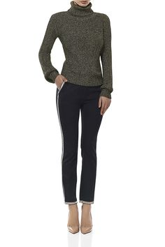 RUBY ROLL NECK KNIT TOP - Shop MISHA COLLECTION