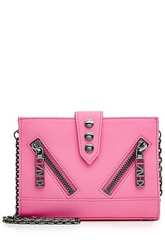 KENZO  Leather Shoulder Bag | STYLEBOP.com