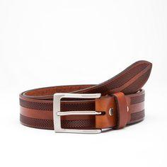 Dante Leather Belt // Tan (30)