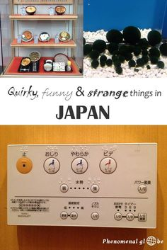 I came across some things in Japan that were different, unusual & sometimes downright weird. Like spacy toilets, happy jingles, an ice cream robot and more. Check out the post on Phenomenal Globe travel blog to read about more funny things in Japan.