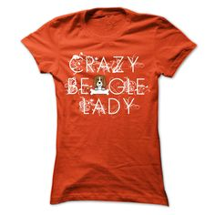 Crazy Beagle Lady...T-Shirt or Hoodie. Click here to see --->>> www.sunfrogshirts.com/Pets/Crazy-Beagle-Lady-Orange-Ladies.html?3618&PinDNs