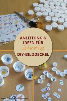 Anleitung und Ideen für DIY-Bilddeckel