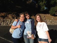 Getting ready to head out for #SharingSmiles! Thank you Annie, Lissa and Becca for volunteering today!