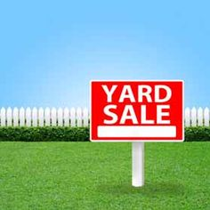 How to Host a Yard Sale before You Move