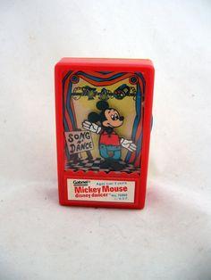 Gabriel 1975 Disney Dancer  Mickey Mouse #vintage #WaltDisneyProductions #DisneyDancer #Disney #MickeyMouse