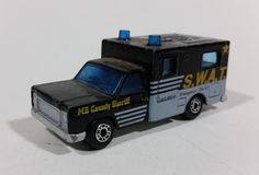 Rare 1977 Matchbox MB County Sheriff Unit 8 Police Swat Die Cast Toy