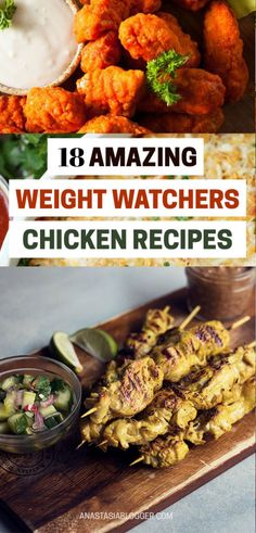 22 Easy Weight Watchers Chicken Recipes with SmartPoints - Health Weight Loss Meals, Weight Watchers Tips, Weight Watchers Chicken, Healthy Recipes For Weight Loss, Losing Weight, Healthy Weight, Skinny Recipes, Ww Recipes, Cooking Recipes