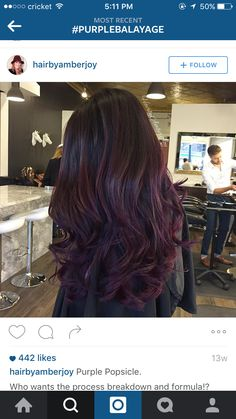 Plum hair                                                                                                                                                                                 More