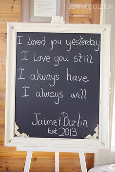 I loved you then, I love you still.  You have my heart, you always will.