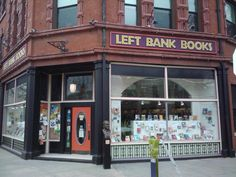 Left Bank Books in St. Louis is a destination for anyway passing throught the gateway to the West.