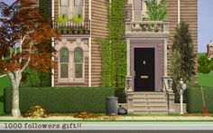 This is my little Sims hideout Sims 2 House, Episode Backgrounds, Sims Games, 2nd City, Great Inventions, New York Style, My Sims, Mansions, House Styles