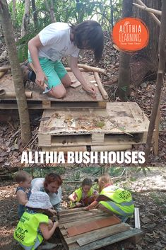 We have built some innovative houses in the bush at Alithia. We created guidelines to ensure that we were all respectful of each other and the environment. We made sure that we removed any rubbish from the bush, we didn't harm any trees or animals, we cleared the creek of debris and branches that were stopping its natural flow. Inspired by Ayana's post about creating laws for her eco-friendly country…. How do we create an Alithia village/ city? How do we expand our guidelines/ laws? Eco Friendly House, Branches, Flow, Innovation, Workshop, Environment, How To Remove, Trees, Houses