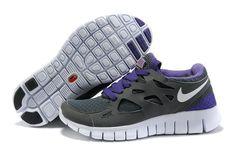 wholesale dealer 1f781 34369 womens nike free 2.0 grey purple! 69.10USD Nike Free Run 2, Jordan Shoes