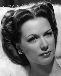 American dancer and actress Eleanor Powell (1912-1982), Glenn Ford's wife