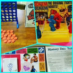 Games out and ready to play at the Marietta Museum of History. What would you have played? #games #boardgames #retrogames #gameoftheweek #museum #familyfriendly #marietta