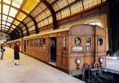 Κεντρικός σταθμός των ΗΣΑΠ. Συρμός THOMSON HOUSTON/DESOUCHE DAVID & CIE BAUME MARPENT ΕΗΣ. Βελγικός συρμός του 1904. Μέχρι το 1957.
