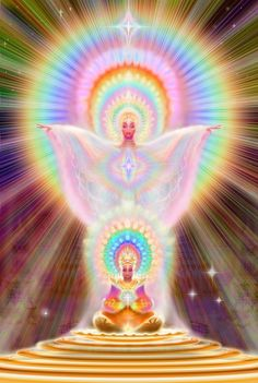 You have come to this place of meaning, the subtle change inside of your being led you on a new journey through life. What is a spiritual awakening? Image Zen, Info Board, Ascended Masters, Visionary Art, Angel Art, Sacred Art, Psychedelic Art, Spiritual Awakening, Mythical Creatures