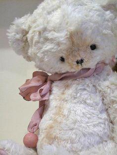 Silk teddy bear