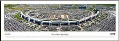 NASCAR Tracks - Texas Motor Speedway Aerial - Framed Poster Print by Laminated Visuals. $89.95. Measures 14 in. x 40 in.. This quality black metal frame is assembled by experts and comes with the appropriate hangners.. This poster is protected with clear picture framing glass, not acrylic which can scratch.. Ready to hang and enjoy for years to come!. This print is mounted and backed with foamcore to eliminate waviness and warping.. This aerial panorama of the T...