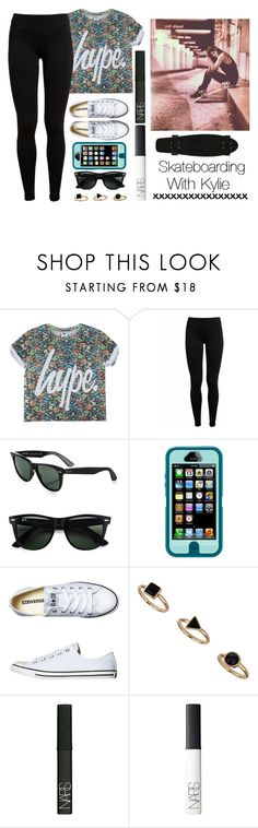 """""""☺ ♥ Skateboarding With Kylie ♥ ☺"""" by its-essie-xo ❤ liked on Polyvore featuring Vince, Ray-Ban, OtterBox, Converse, NARS Cosmetics, women's clothing, women's fashion, women, female and woman"""