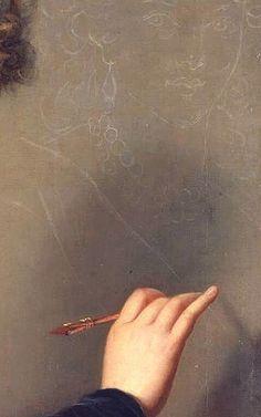 Self Portrait (detail), Louise Élisabeth Vigée Le Brun