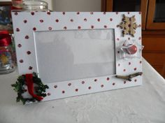 Xmas picture frame
