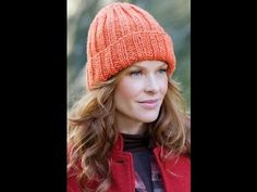 How to #Knit - Easy Fit Ribbed Hat -- Yolanda Soto Lopez (she talks fast like I do...Love it!!)