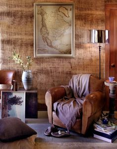 Metallic Woven Straw Wallpaper | FROM THE RIGHT BANK