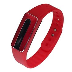 Bolayu HB02 Heart Rate Monitor Smart Touch Bluetooth Bracelet Fitness Wristband Red ** Want to know more, click on the image.