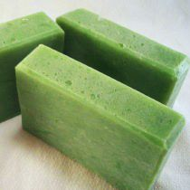 Cucumber and Aloe soap to make