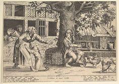 Peeter van der Borcht | The Hen-Pecked Husband | The Met