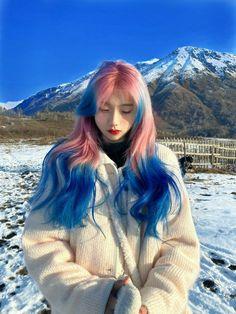 Hair Dye Colors, Cool Hair Color, Dye My Hair, New Hair, Hair Inspo, Hair Inspiration, Hair Streaks, Aesthetic Hair, Ulzzang Girl