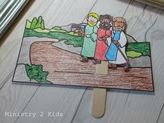 Road to Emmaus Craft – Ministry 2 Kids Kindergarten Sunday School, Toddler Sunday School, Sunday School Activities, Bible Activities, Sunday School Lessons, Sunday School Crafts, Children's Church Crafts, Vbs Crafts, Craft Stick Crafts