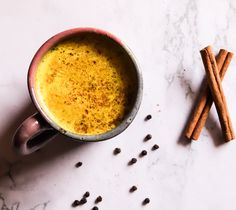 Golden Turmeric Milk – Aia's Healthy Zone
