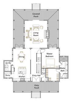 Cove Collection — Flatfish Island Designs — Coastal Home Plans