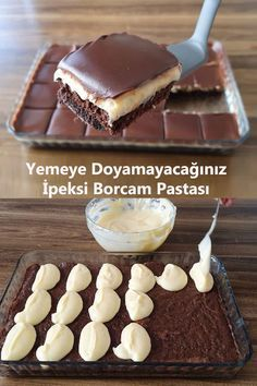 Turkish Recipes, Easy Healthy Recipes, Beautiful Cakes, Chocolate Cake, Recipies, Food And Drink, Cooking Recipes, Yummy Food, Meals