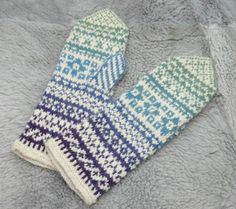 mittens. russian pattern/instructions