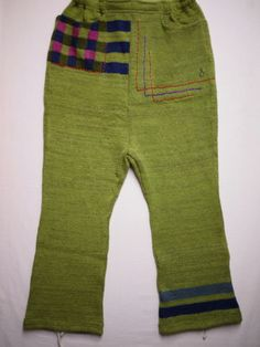 "mash-mash-SARUERU PANTS""L.Green mix"" 14,800"