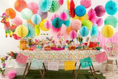 Colorful spring party!