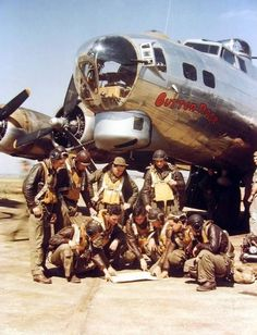 Courageous WWII Bomber Crews. All Heroes!