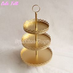 Cheap plate wall display, Buy Quality plate plain directly from China display magnetic Suppliers:  Product name: Cupcake standColor: golden as pictureSize:1 tier: 18cm2 tier: 18cm 22cm3 tier:18cm 22cm 26cm