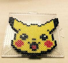 Pikachu Pokemon perler beads by 123reesecup
