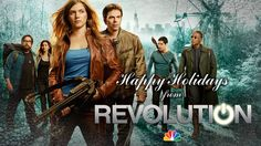 Happy Holidays from our #Revolution cast and crew!
