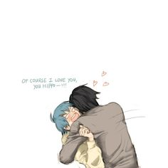 "kouaogotmarried: "" It was a little complicated…. (Every time I post, I want to apologize for my tablet handwriting which is literal poo… I'm sorry… "" Noiz Dmmd, Bl Games, Nitro Chiral, Dramatical Murder, Cute Gay, Fujoshi, Tumblr Posts, Cute Love, Me Me Me Anime"