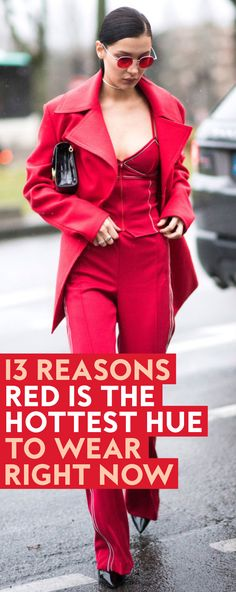 Spice up your wardrobe this summer with all these red hot pieces.