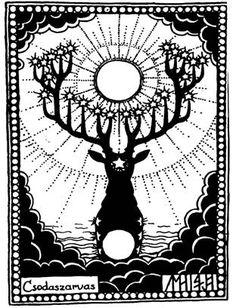 Magyar himnusz: A Regölés szokása és a csodaszarvas Folk Art, Stag Tattoo, Art, Mythology, Art Reference, Leather Art, Coloring Pages, Folk, Oracle Cards