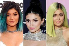 Kylie Jenner Hair and Beauty Evolution   Teen Vogue Hairstyle #celeb #hair #haircolor
