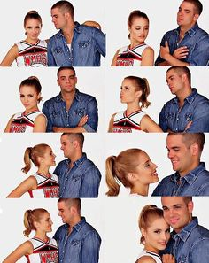 Quinn and Puck | glee