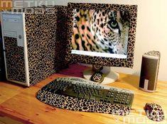 Leopard Print Computer.